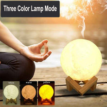 Load image into Gallery viewer, Deer with the Moon 3 in 1 Night Lamp Ultrasonic Diffuser and Humidifier