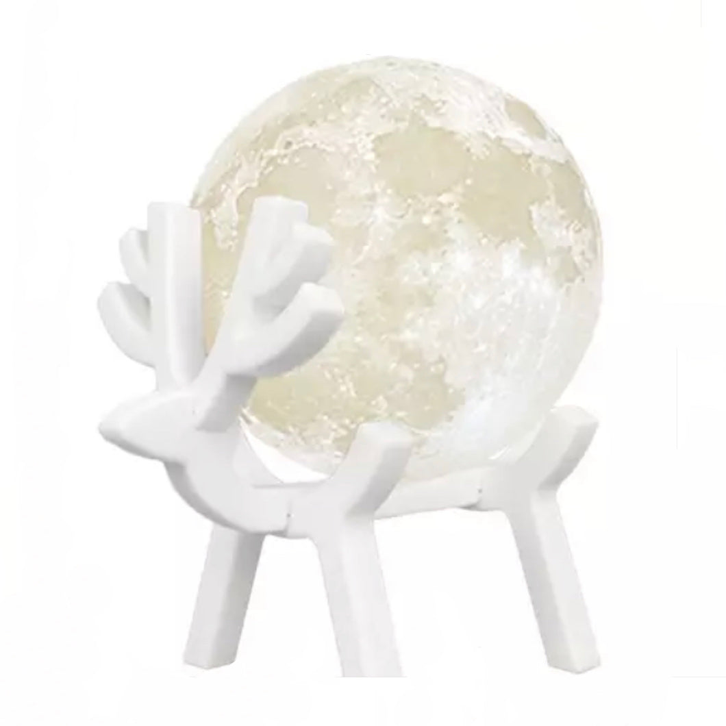 Deer with the Moon 3 in 1 Night Lamp Ultrasonic Diffuser and Humidifier