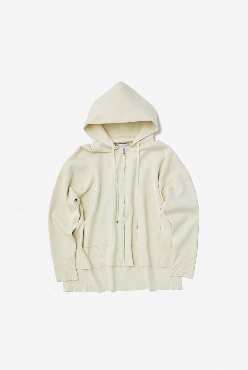 Hoodie Smooth Puff Knit