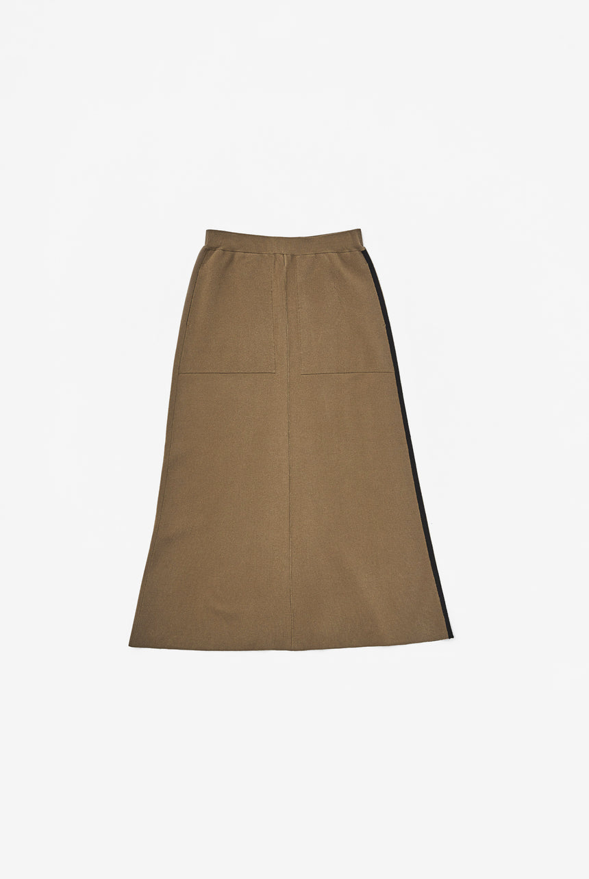 Smooth Puff Skirt