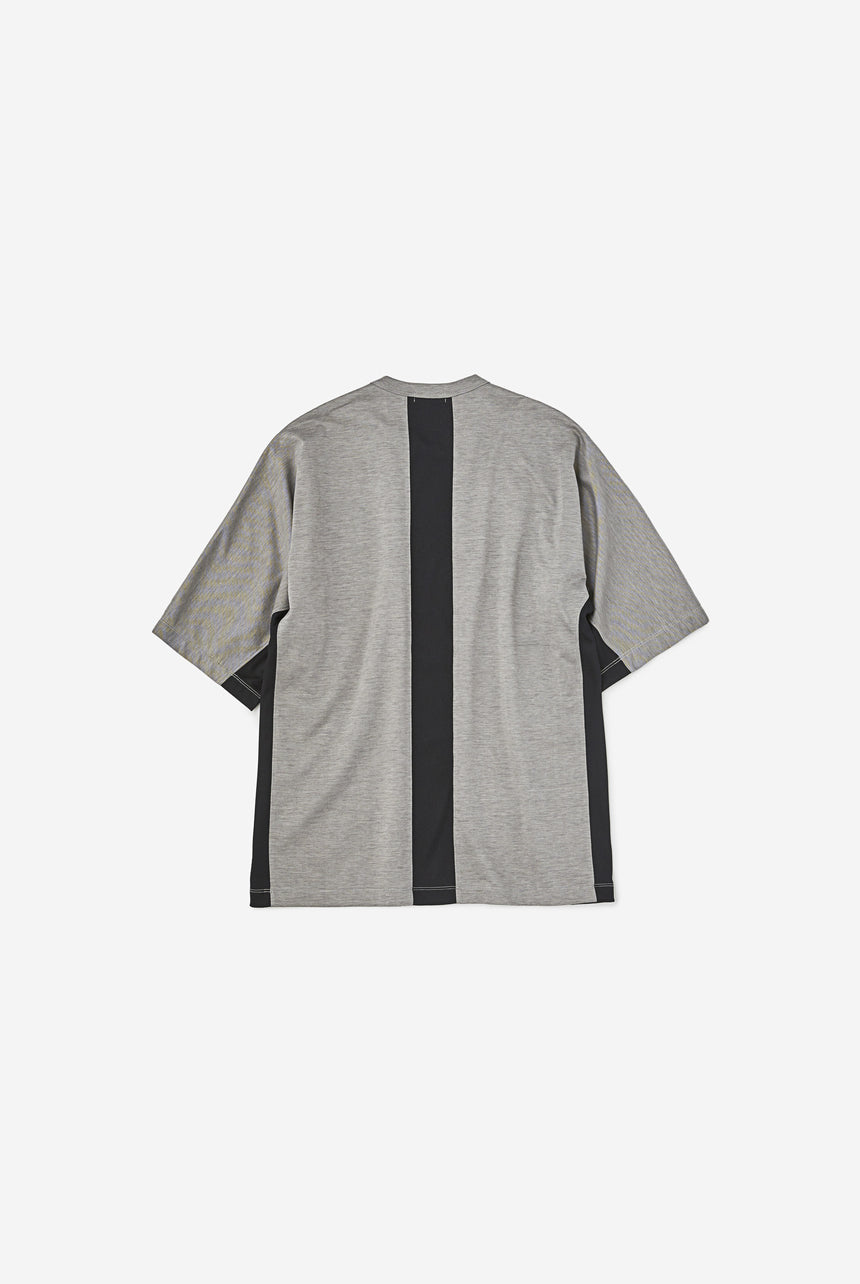 Crew Neck High Gauge Mock Roddy Tee