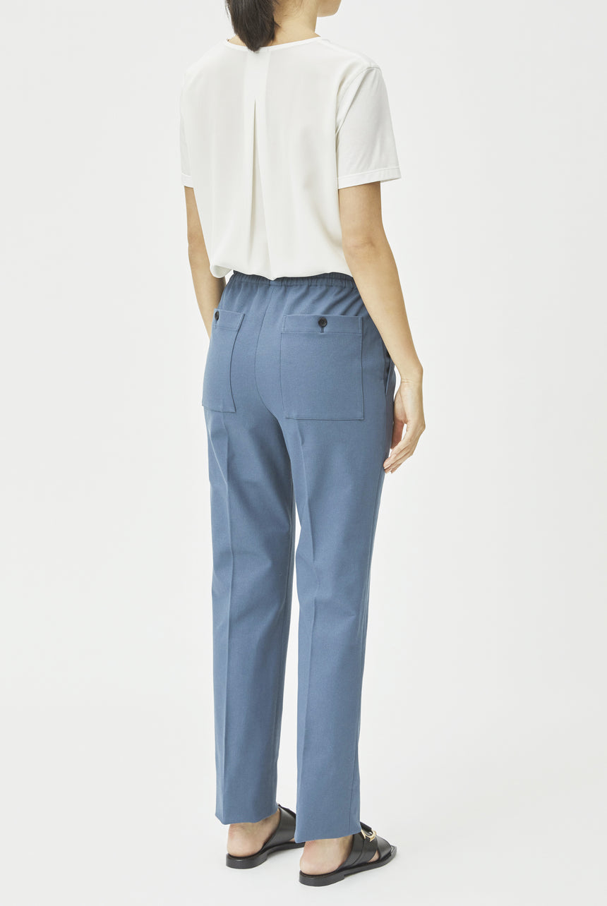 Gabardine Stretch Tiber Trousers