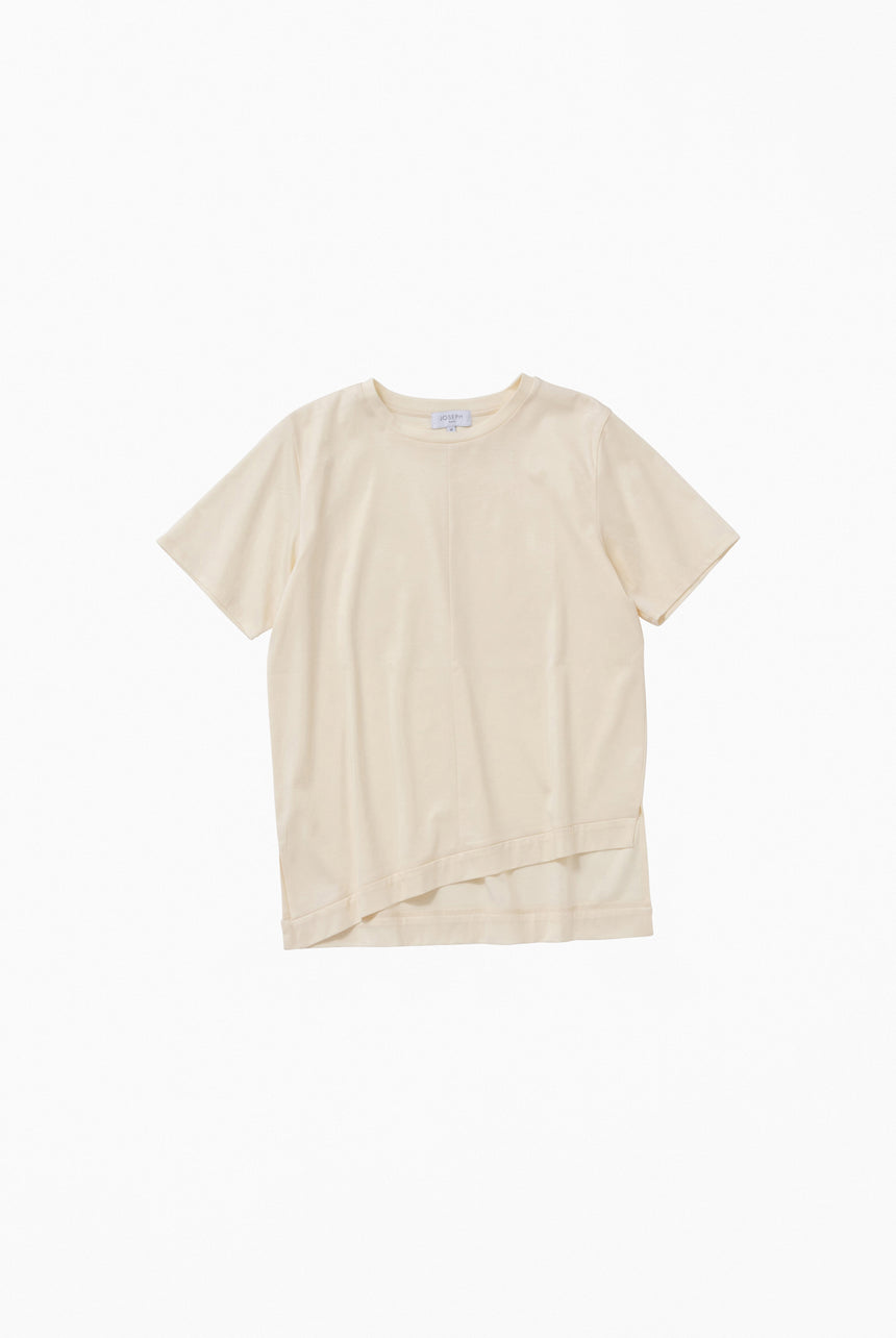 SOPHIA COTTON / ROUND NECK TEE