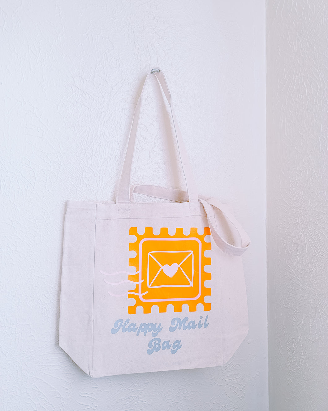Happy Mail Bag - Tote perfect for packages
