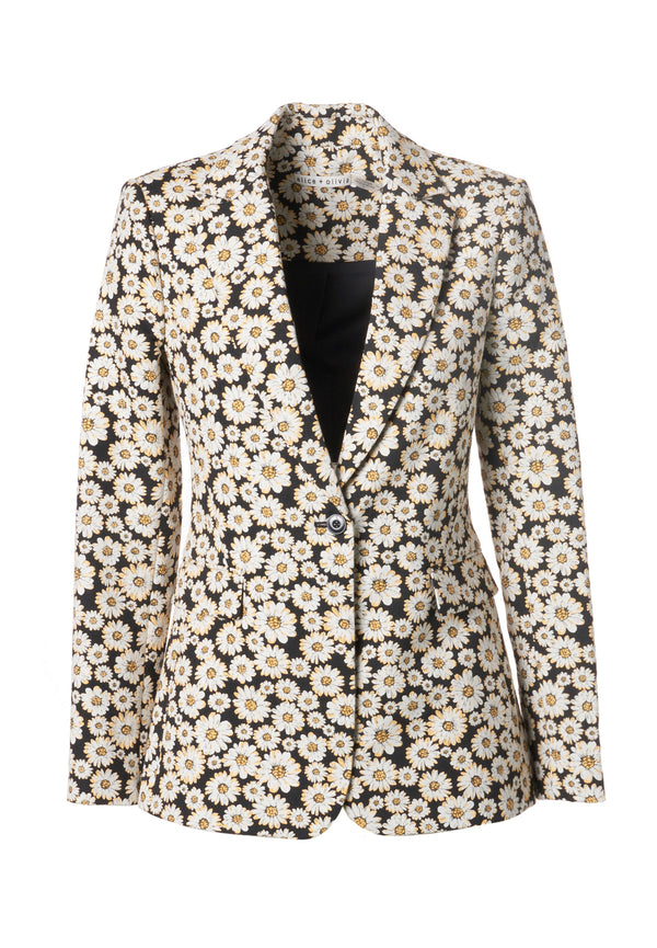 MACEY NOTCH COLLAR FITTED BLAZER