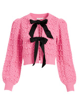 KITTY PUFF SLEEVE CARDIGAN_1