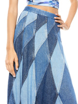 PIERRE PATCHWORK MIDI SKIRT_4