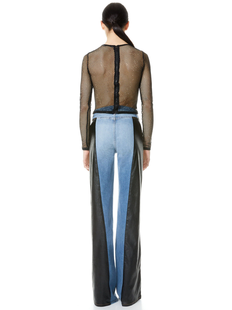 MAX ASYM VEGAN LEATHER DENIM PANT_3