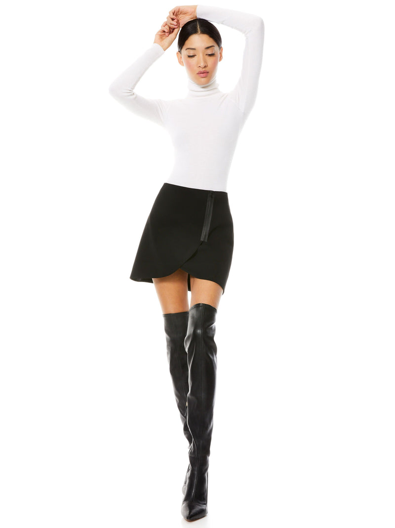 LENNON SIDE ZIP MINI SKIRT_5