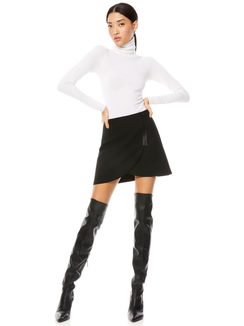 LENNON SIDE ZIP MINI SKIRT_6