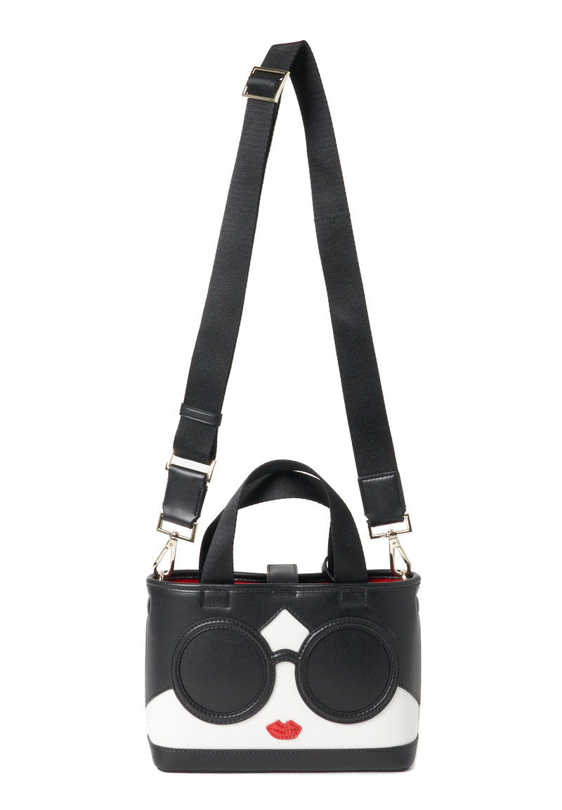 ASHLEY MINI STCEY FACE CROSSBODY TOTE
