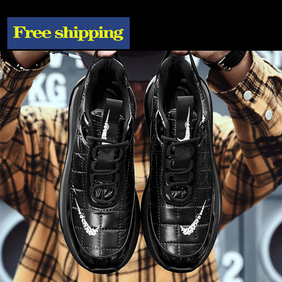 Free shipping trendy men's shoes casual cotton shoes old shoes casual sports shoes