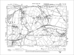 HUNTINGDONSHIRE 01NE : Old map of Wansford, Water Newton, Sutton in 1902