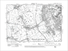 Birkenhead (W), Claughton (W), Noctorum, old map Cheshire 1913: 13NW