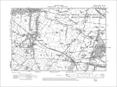 Bramhall, Poynton, old map Cheshire 1910: 19SE