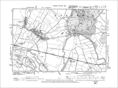 HUNTINGDONSHIRE 02SW : Old map of Castor, Ailsworth in 1902
