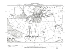 Southill, Stanford, old map Bedfordshire 1902: 22NE