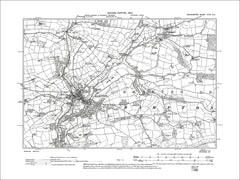 Bampton, Shillingford, Old Map Devon 1905: 24SE