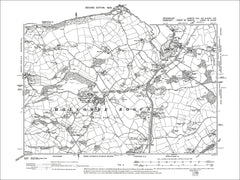 Holcombe Rogus, Old Map Devon 1906: 25SE