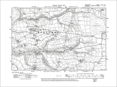 Welcombe, Old Map Devon 1907: 27SW