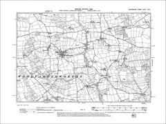 Woolfardisworthy, Old Map Devon 1906: 28NW