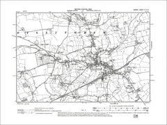 Dorset sheet 03NE - old map of Gillingham, Milton on Stour (south) in 1902
