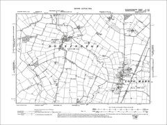 GLOUCESTERSHIRE 03NE : Old map of Dorsington, Long Marston in 1903