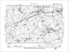 Dorset sheet 03SW - old map of Buckhorn Weston, Kington Magna in 1902
