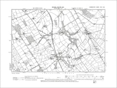 Southwaite, Low Hesket, Old Map Cumberland 1901: 31SW