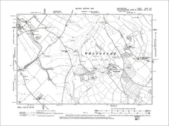 Whipsnade, old map Bedfordshire 1902: 32SW