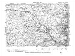 Matlock Bath, Bonsall, Old Map Derbyshire 1900: 34NW