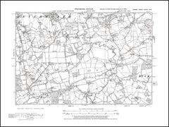 Betchworth (south), Leigh, Trumpet Hill, Surrey in 1938 : 34-NW