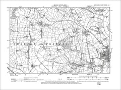 Belper (W), Blackbrook, Old Map Derbyshire 1900: 39SE