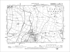 HUNTINGDONSHIRE 04NE : Old map of Elton in 1902