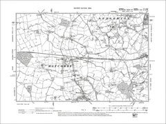 Dorset sheet 04NW - old map of Motcombe (north) in 1902