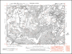Bishops Gate, Englefield Green, Egham Wick, Virginia Water, Surrey in 1938 : 4-SE