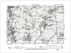 Horsley Woodhouse, Holbrook, Millford, Old Map Derbyshire 1901: 45NW