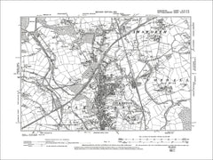 Ilkeston, Old Map Derbyshire 1901: 46SW