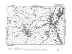 Sandiacre, Stapleford, Risley, Old Map Derbyshire 1901: 51SW
