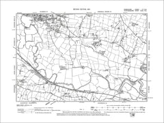Doveridge, Old Map Derbyshire 1901: 52NE