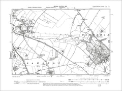 Babraham, Stapleford, old map Cambs 1903: 54NE