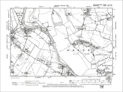 Dorney, Boveney, Burnham (S), old map Bucks 1900: 55NE