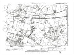 Langley Marsh, Horsemoor Green, old map Bucks 1900: 56NE