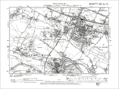 Slough, Eton (N), Chalvey, Cippenham, old map Bucks 1900: 56NW