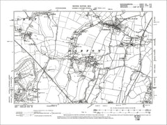 Colnbrook, Horton, Datchet Common, old map Bucks 1900: 56SE