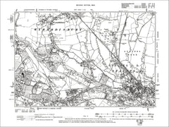 Wyrardisbury, old map Bucks 1900: 58NE