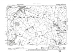 Coton in the Elms (N), Old Map Derbyshire 1901: 59SE