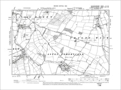 GLOUCESTERSHIRE 06SE : Old map of Sedgeberrow, Aston Somerville in 1903
