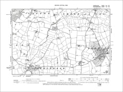 Lullington, Coton in the Elms (S), Old Map Derbyshire 1901: 62NE