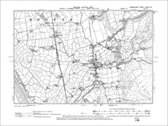 Bootle, Old Map Cumberland 1900: 85SE